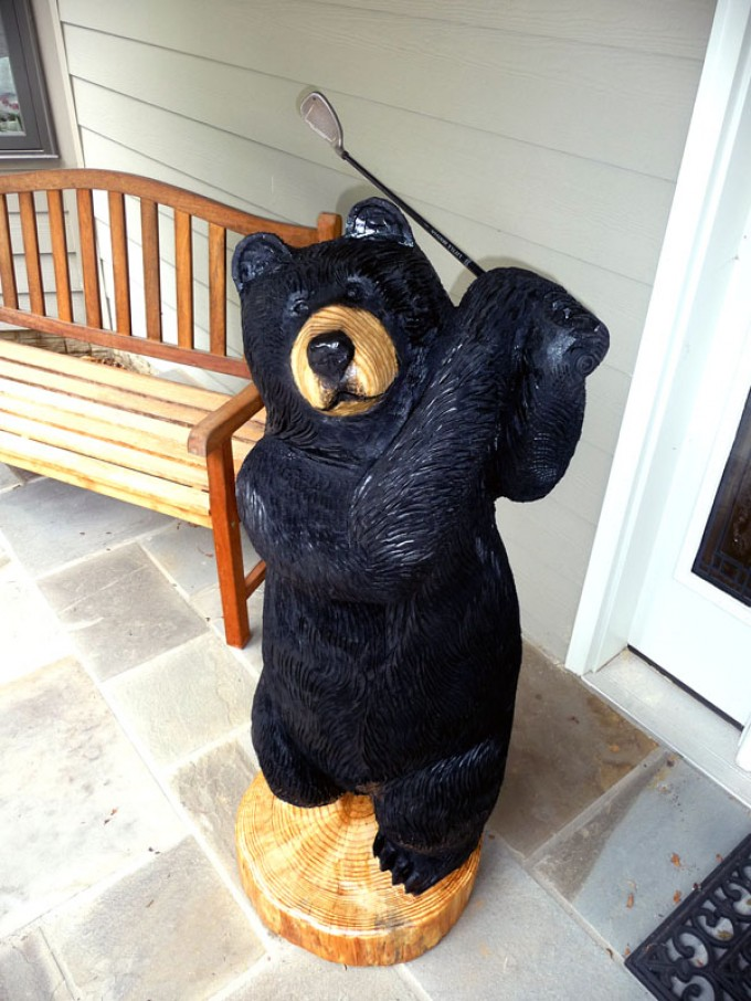 Hole in One: A Golfing Bear for Father's Day