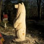 Chainsaw Bear, Waughs Ferry Rd