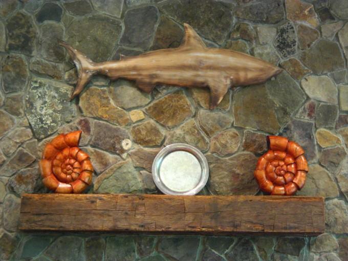 Ammonites and Sharks