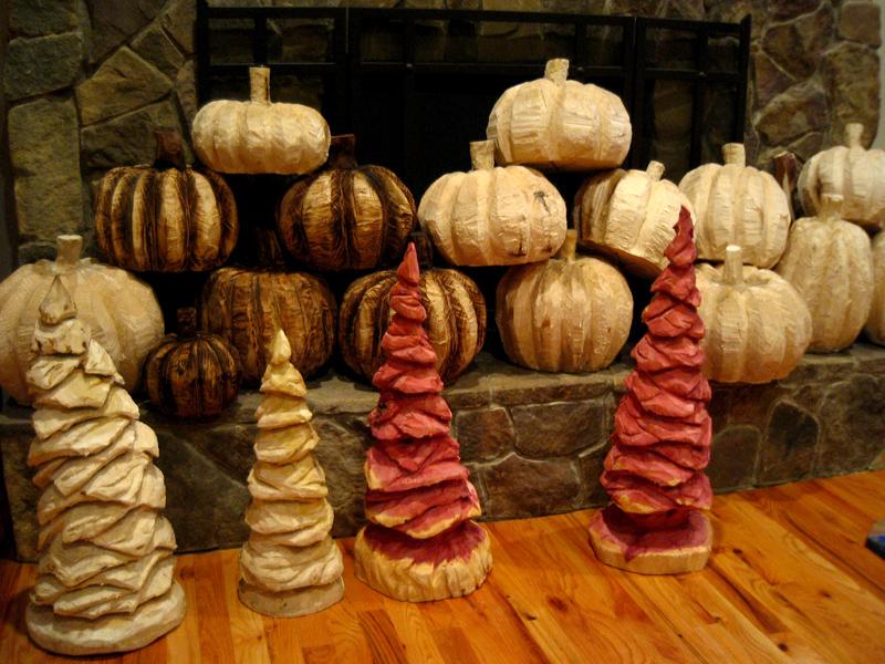 'Tis the season for pumpkins and pine trees