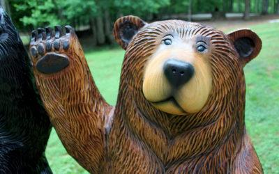 Lucy, Waving Brown Bear